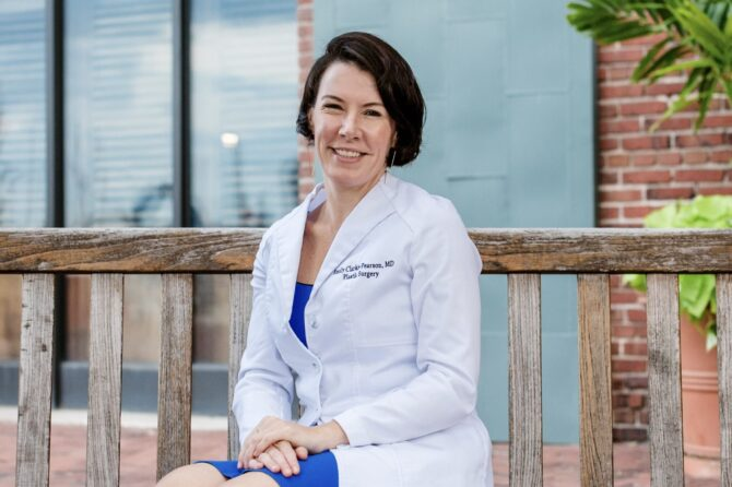 Dr. Emily Clarke-Pearson voted one of America's Best Female Plastic Surgeons 2021!